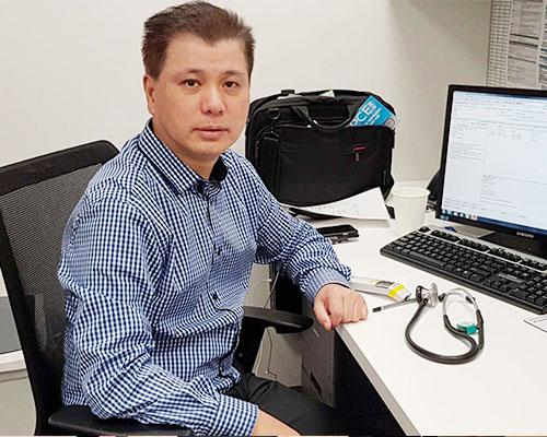 Dr David Wang